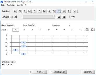 Alternate Tools - Alternate Chord